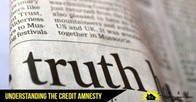 credit amnesty